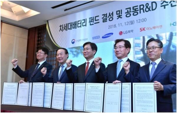 韩国电池厂联手推固态/锂硫等电池应用