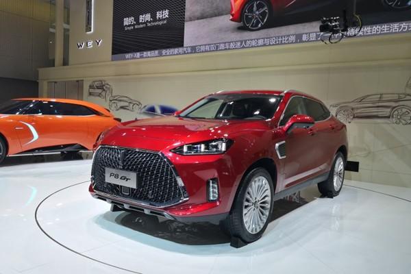 2018广州车展:长城WEY P8 GT正式发布