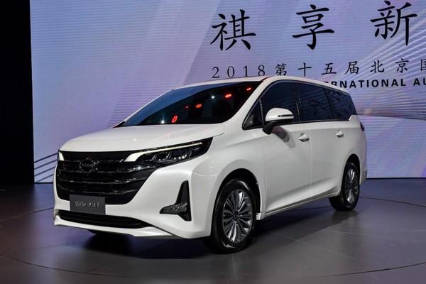2018广州车展:传祺GM6预售价11.5万起