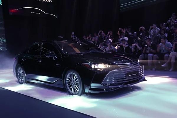 2018广州车展:一汽丰田亚洲龙3月上市
