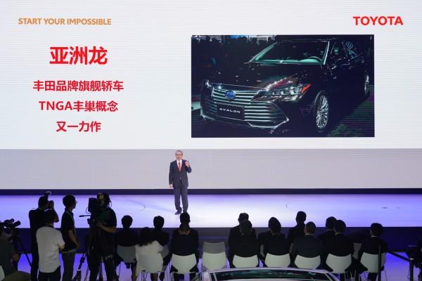2018广州车展:一汽丰田高层领导访谈