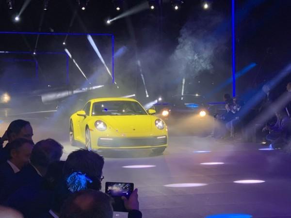 全新一代保时捷911全球首发  售149.8万起