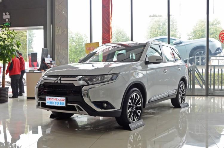 售22.58万元 三菱欧蓝德新车型正式上市
