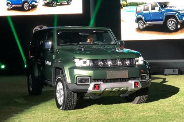 售16.99-17.48万 BJ40 PLUS新车型上市