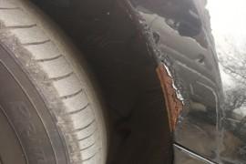 车身锈蚀严重,有严重安全隐患