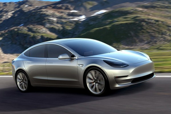 售49.9-56.0万 特斯拉Model 3开放预订
