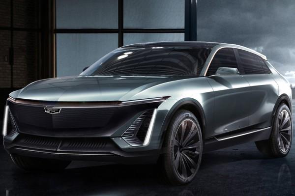 北美车展首发 凯迪拉克纯电动概念车官图