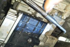液压控制单元漏油