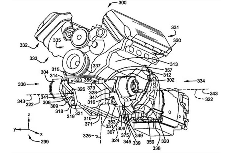 福特全新动力总成图曝光 将推混动Mustang