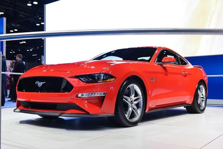 售40.38-59.18万 2019款Mustang上市