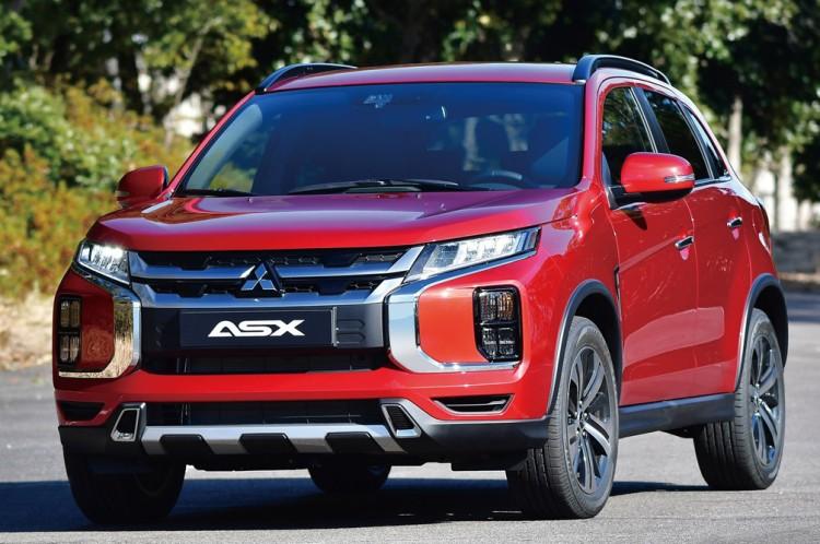 三菱全新一代ASX官图发布 日内瓦车展首发