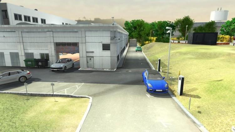 保时捷在车间测试自动驾驶 将于年中完成