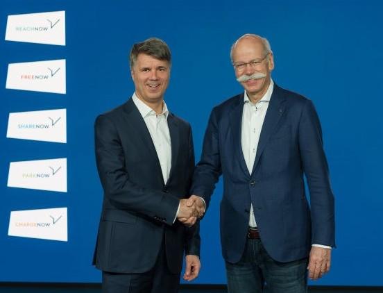 戴姆勒、宝马豪掷10亿欧元 建5家出行合资公司