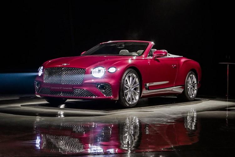 售328.10万元起 全新欧陆GT敞篷版上市