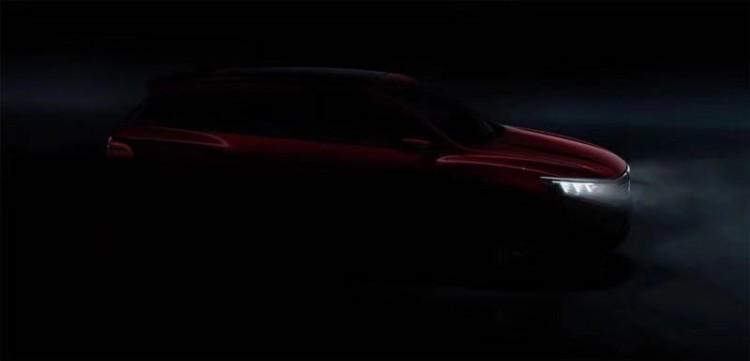 极具线条感 比亚迪全新SUV预告图曝光