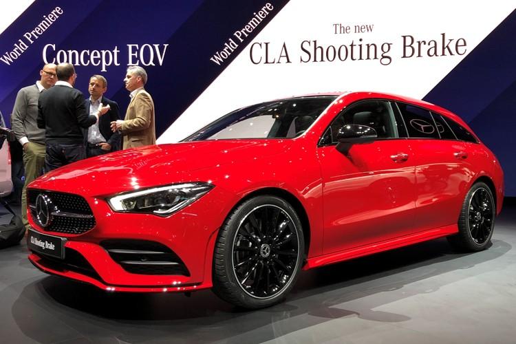 日内瓦车展:奔驰新CLA猎装版正式亮相