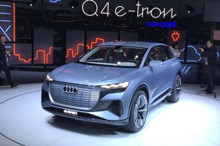 2019日内瓦车展:奥迪Q4 e-tron概念车