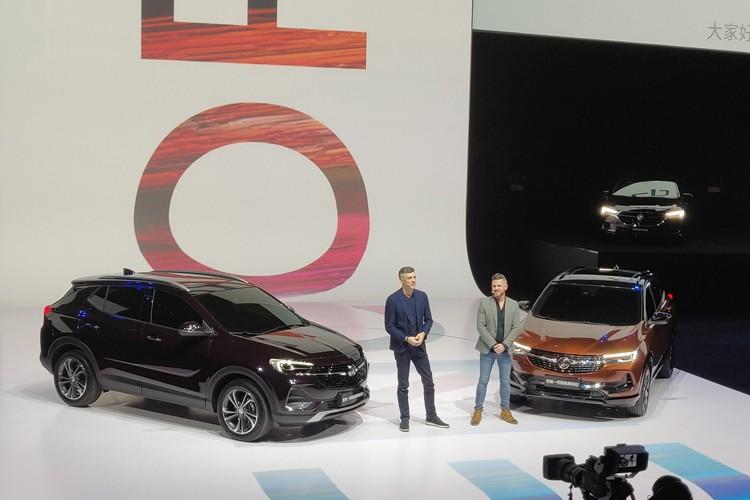 上海车展:新昂科拉家族/GL8概念车发布