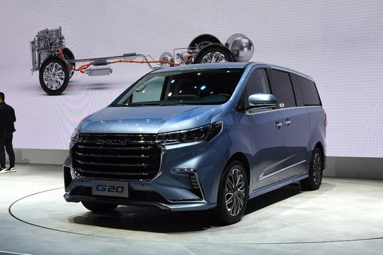 2019上海车展:上汽大通G20正式发布