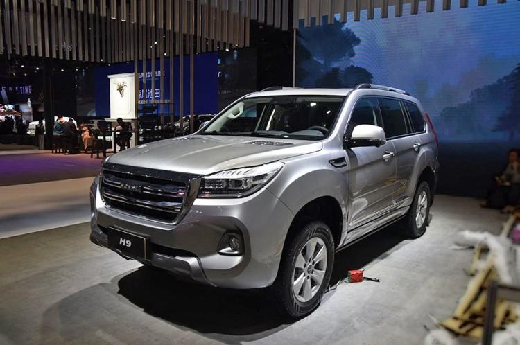 2019上海车展:新款哈弗H9正式亮相