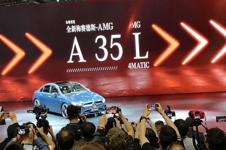 2019上海车展:国产AMG A 35 L正式亮相