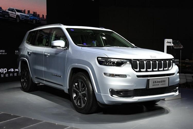 2019上海车展:Jeep指挥官PHEV亮相