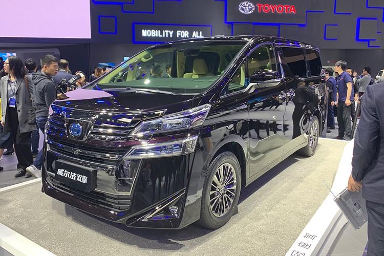 上海车展:丰田威尔法双擎售80.50万起