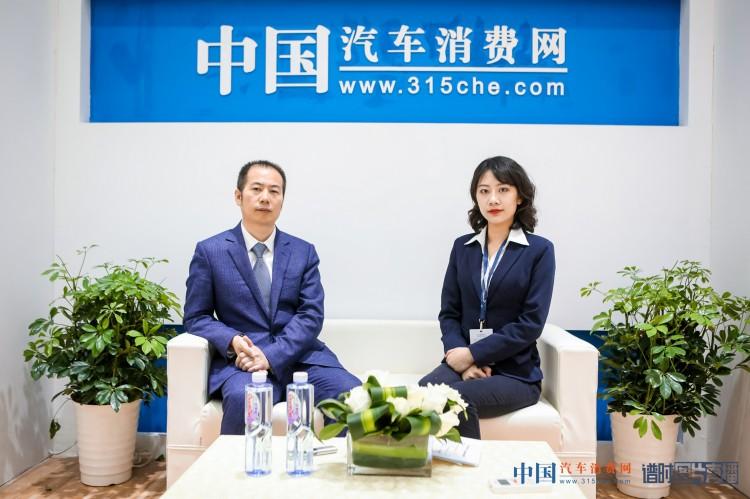 2019上海车展:专访一汽丰田零件部副部长许广伟