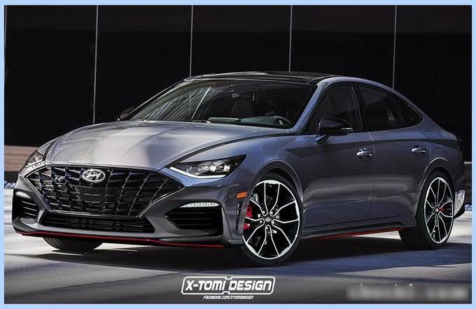 运动轿跑车 新一代现代索纳塔推性能版