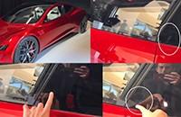 特斯拉下?#28142;鶵oadster车型将配备滑动式指纹识别功能