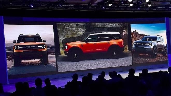 福特Bronco五门版预告图曝光 2020年发布