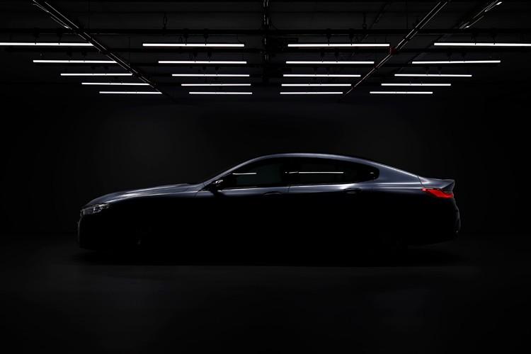 6月亮相 寶馬8系Gran Coupe預告圖發布