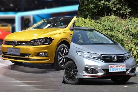 谁是小型车的标杆?全新Polo对比飞度