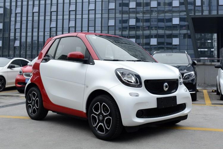 售13.38万起 smart fortwo新增车型上市
