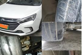 比亚的秦80四万公里啃6条车胎,而且属于通病无法解决