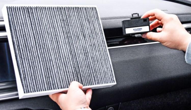 现代开发智能空气净化系统 使用激光传感器监测车内空气质量