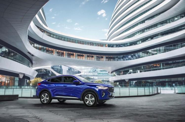 哈弗F7x系列集结完毕 实力征战轿跑SUV市场!