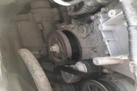 凯迪拉克ATS-L空调压缩机抱死,皮带断裂导致在高速抛锚