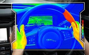 加热方向盘防止驾驶员分心