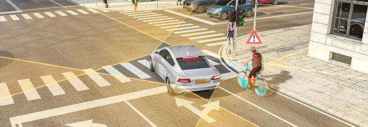 大陆集团推新一代雷达技术 让驾驶员安全转弯