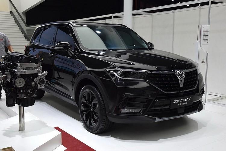 正统宝马引擎 中华V7国六版将于7月上市