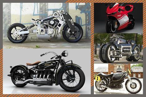 全球最贵的10款摩托车,没有人不喜欢!