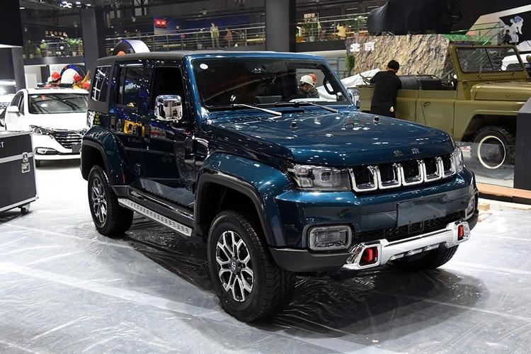 售16.49万起 新款北京BJ40家族上市