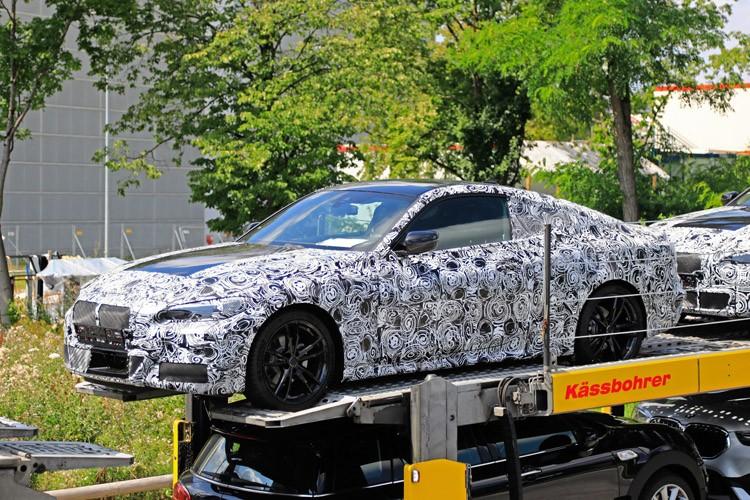 年底发布 新一代宝马4系Coupe谍照曝光