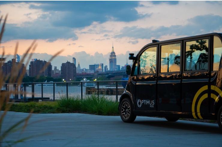 Optimus Ride在纽约布部署自动驾驶班车 为员工提供穿梭服务