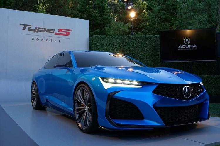 为新一代TLX预热 讴歌Type S概念车正式亮相