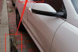 车辆右后车窗玻璃被砸,车门打开财物被盗,wey安防APP无任
