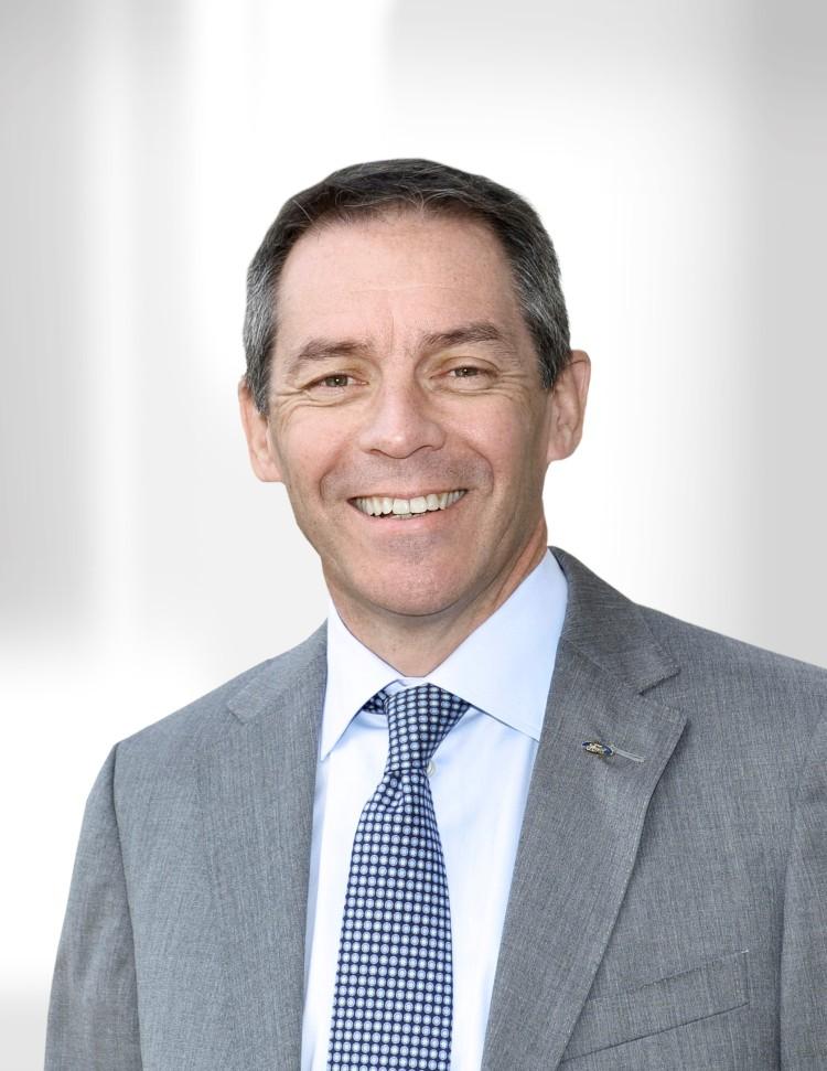 福特中国宣布任命  Steven Armstrong出任长安福特总裁