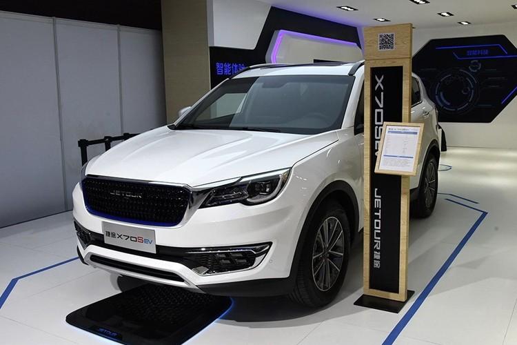 2019成都车展:捷途X70S EV售14.98万起