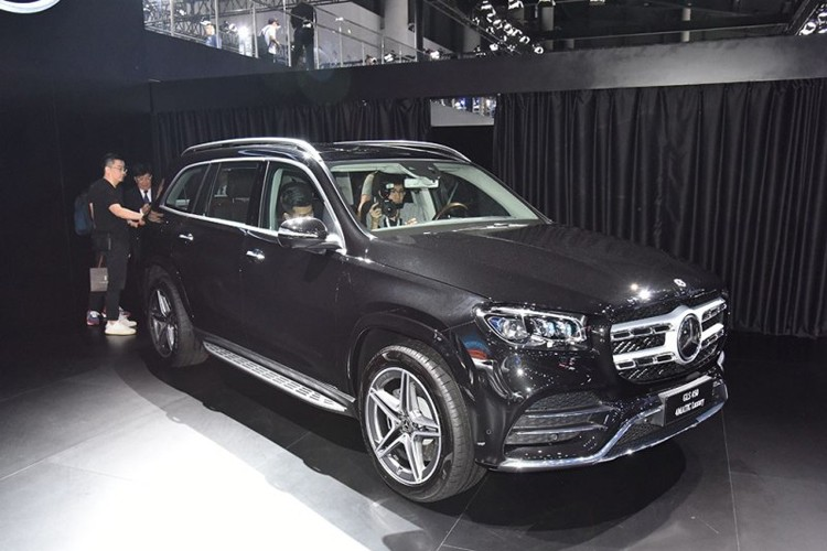 2019成都车展:新一代奔驰GLS国内首发